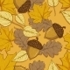 Pattern of Autumn Leaves - GraphicRiver Item for Sale