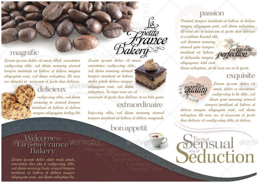 Tri-Fold Brochure - La Petite France Bakery by TonyClifton ...