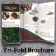 Tri-Fold Brochure - La Petite France Bakery - GraphicRiver Item for Sale
