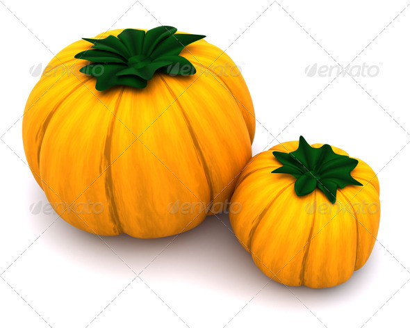 Pumpkins - 3D Backgrounds