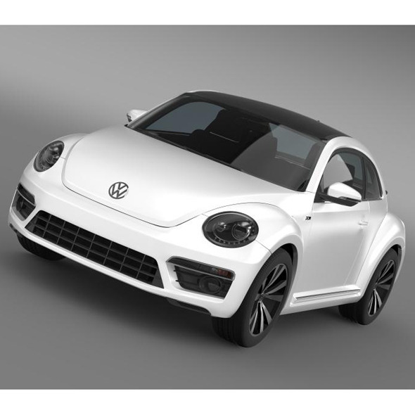 VW Beetle RLine 2014 - 3DOcean Item for Sale