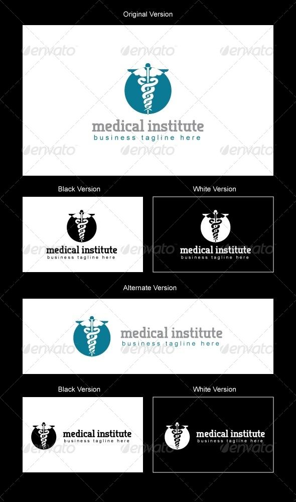 Medical Institute Logo Design - Symbols Logo Templates