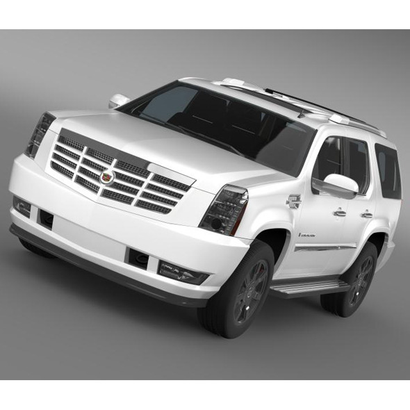 Cadillac Escalade - 3DOcean Item for Sale