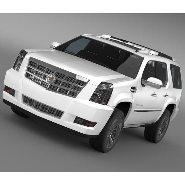 Cadillac Escalade 2011 Platinum  - 3DOcean Item for Sale