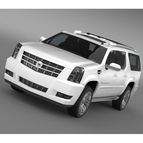 Cadillac Escalade 2013 ESV - 3DOcean Item for Sale