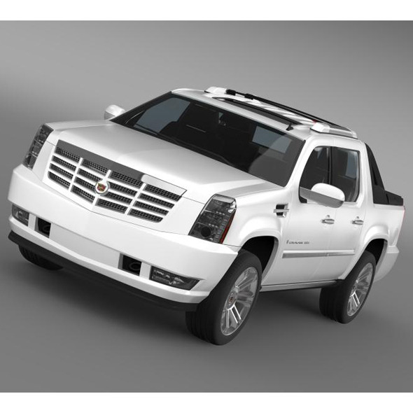 Cadillac Escalade 2013 EXT - 3DOcean Item for Sale