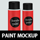 Aerosol Paint Mockup - GraphicRiver Item for Sale