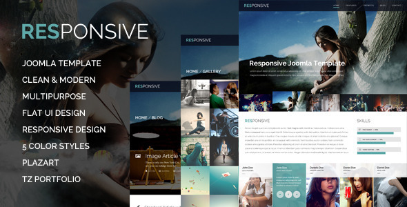 Responsive – Multi-Purpose Joomla Template