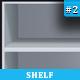 Book & Icon Shelf #2 - GraphicRiver Item for Sale