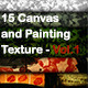 Canvas and Painting Texture