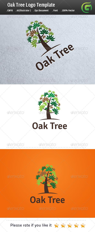 Oak Tree By Legendlogo
