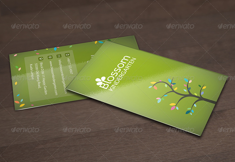 Eco friendly business card bundle 2 in 1 by kimiwa graphicriver eco friendly business card bundle 2 in 1 colourmoves