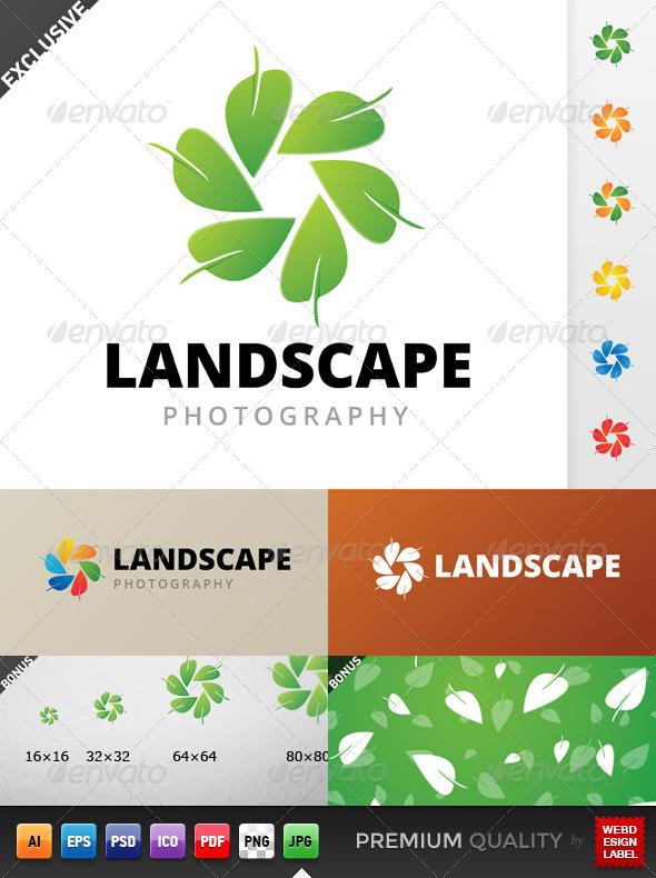 Landscape Photography Logo - Symbols Logo Templates