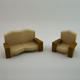 Cartoon Sofas - 3DOcean Item for Sale
