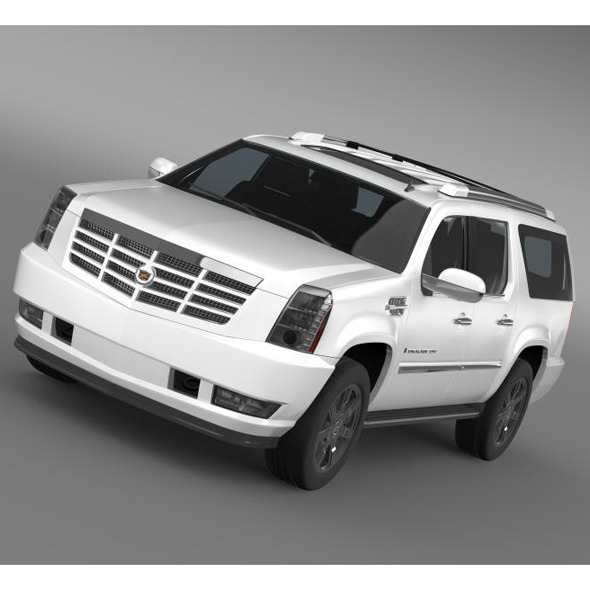 Cadillac Escalade ESV - 3DOcean Item for Sale
