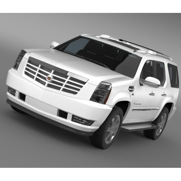 Cadillac Escalade European Version - 3DOcean Item for Sale