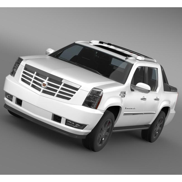 Cadillac Escalade EXT - 3DOcean Item for Sale