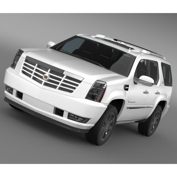 Cadillac Escalade Hybrid - 3DOcean Item for Sale