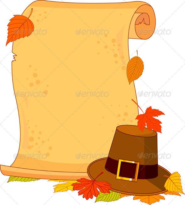 Thanksgiving scroll by dazdraperma graphicriver thanksgiving scroll seasonsholidays conceptual maxwellsz