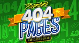 Premium 404 Pages