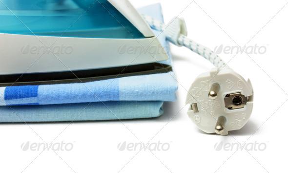 Ironing - Stock Photo - Images