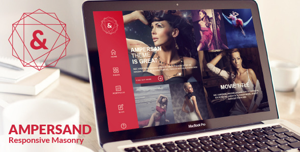 Ampersand - Multipurpose Masonry Website Template