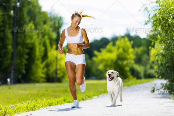 Sport girl - Stock Photo - Images