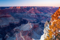 Grand Canyon in winter at dusk - PhotoDune Item for Sale