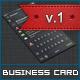 Dark iOS Business Card v.1 - GraphicRiver Item for Sale