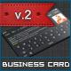 Dark iOS Business Card v.2 - GraphicRiver Item for Sale