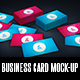Creative Business Card Mock-Up - GraphicRiver Item for Sale