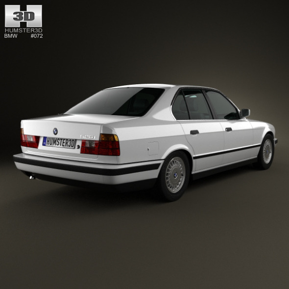 BMW 5 Series Sedan (E34) 1993 By Humster3d