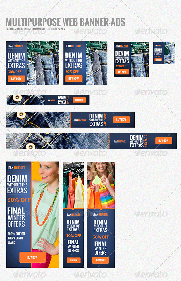 Web Banners-Ads - Banners & Ads Web Elements