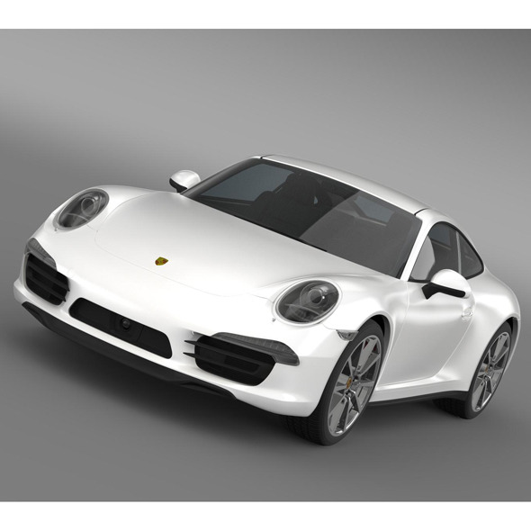 Porsche 911 carerra 4s 2013 - 3DOcean Item for Sale
