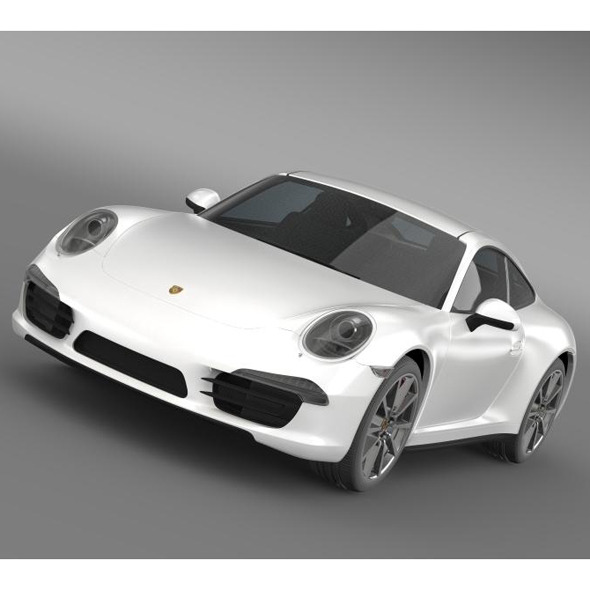 Porsche 911 Carerra S 2013 - 3DOcean Item for Sale