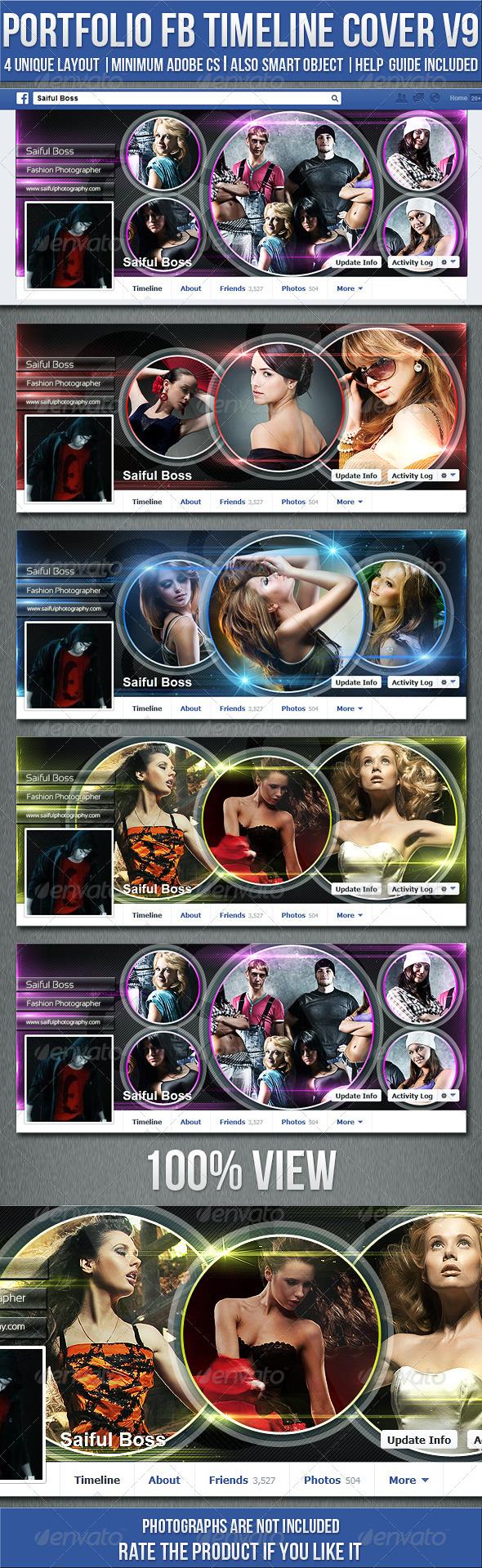 Portfolio Fb Timeline Cover V9 - Facebook Timeline Covers Social Media