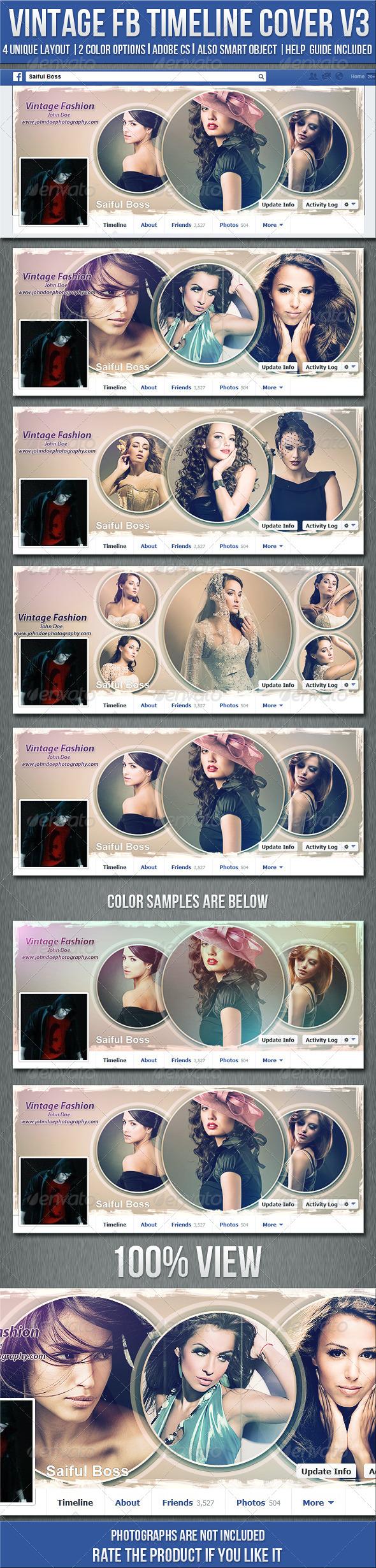 Vintage Photography Fb Timeline Cover V3 - Facebook Timeline Covers Social Media