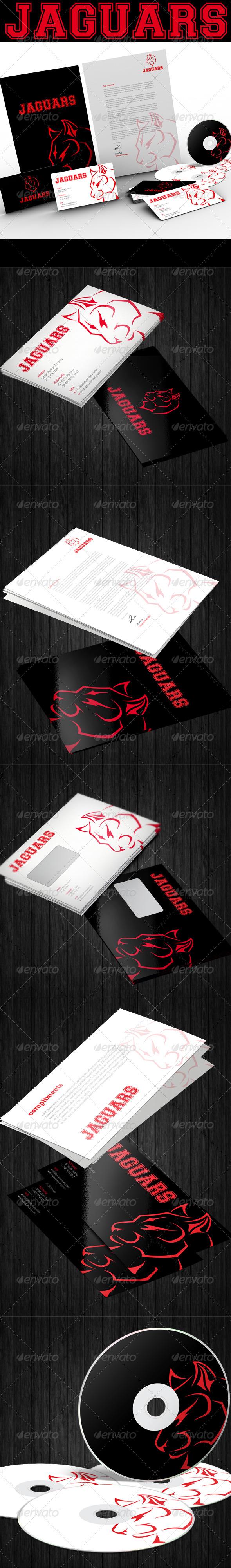 Jaguars Corporate Identity - Stationery Print Templates