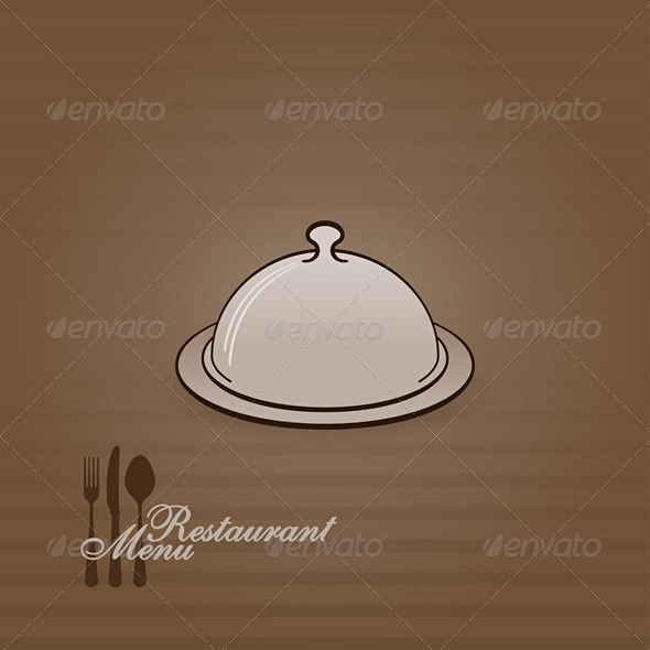 Menu Illustration with Cover - Backgrounds Business