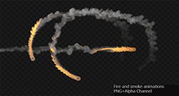 Fire and Smoke Animations