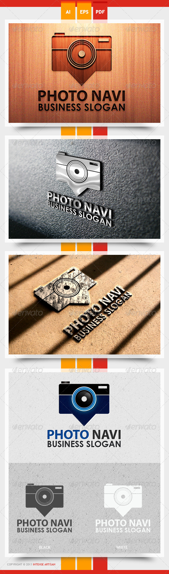 Photo Navi Logo Template - Objects Logo Templates