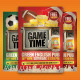 Game Day Party Flyer Template - GraphicRiver Item for Sale