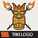 Tiki King Logo Template - GraphicRiver Item for Sale