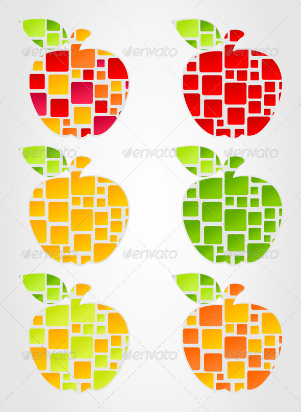 Apple2 - Food Objects