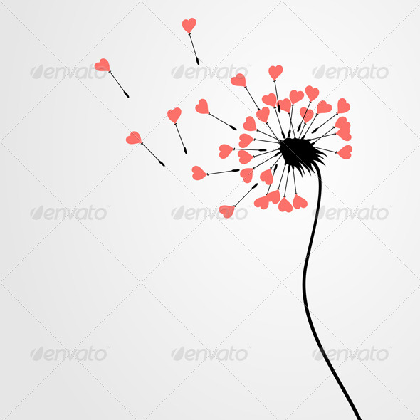 Love dandelion - Flowers & Plants Nature