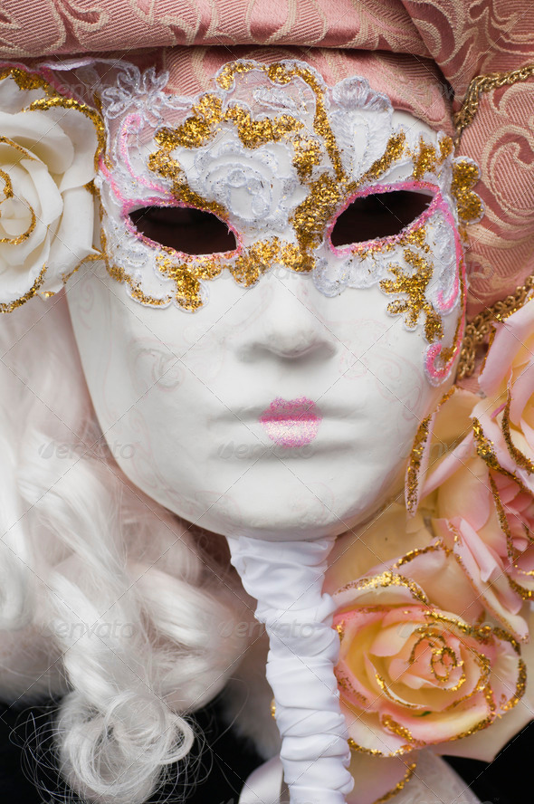 Carnival Mask of Venice - Stock Photo - Images