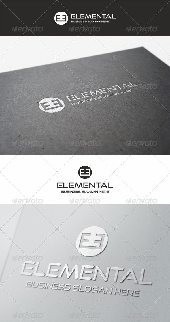 Elemental Logo Brand - Symbols Logo Templates