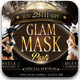 Glam Mask Party Flyer Template - GraphicRiver Item for Sale