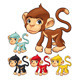 Funny monkey.  - GraphicRiver Item for Sale