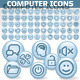 Large Collection of Shiny Computer Icons - GraphicRiver Item for Sale